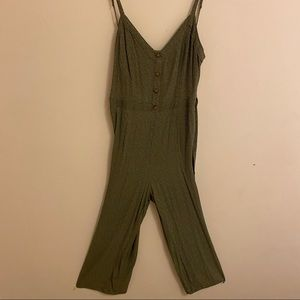 Abercrombie & Fitch Polka Dot Jumpsuit